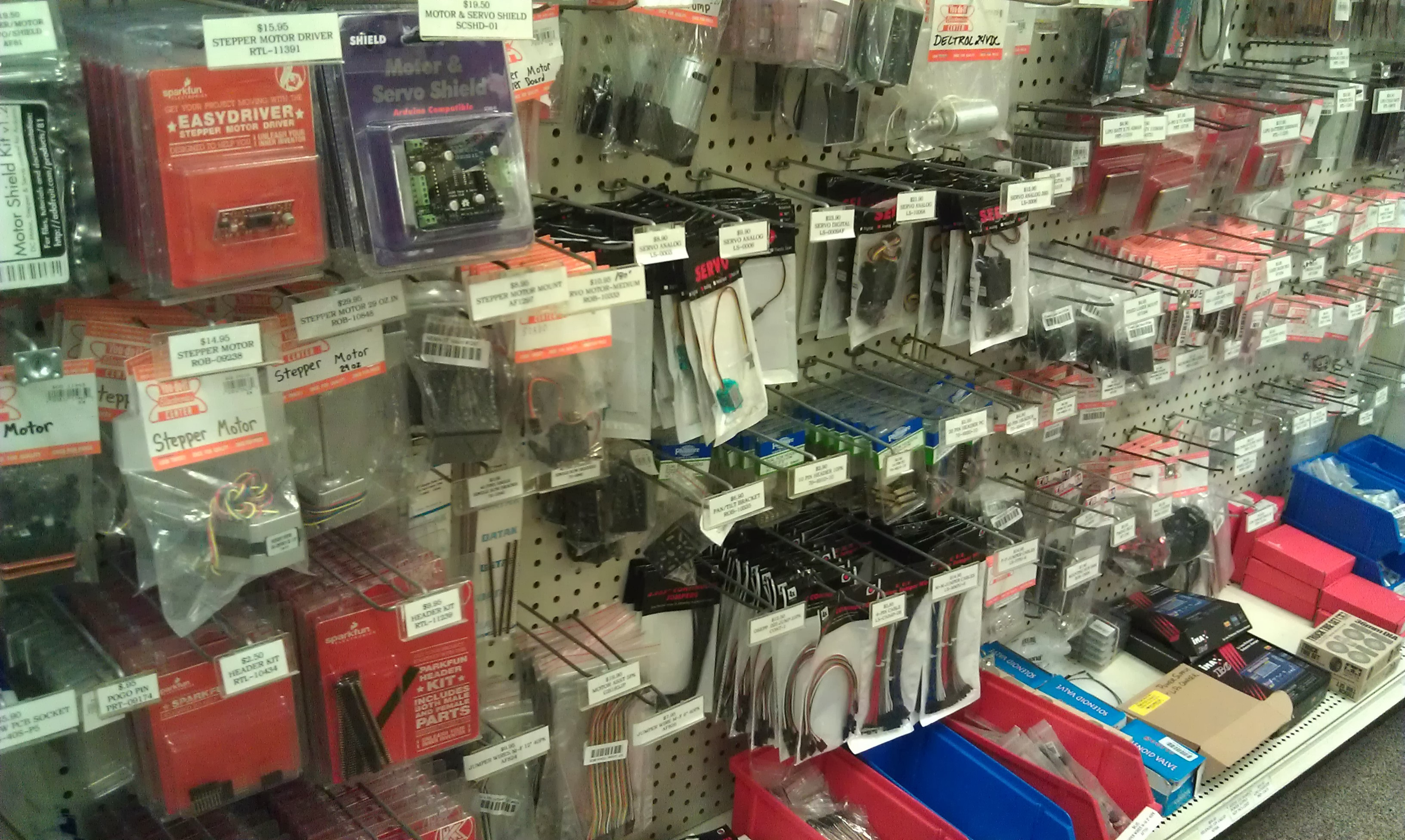Local stem shopping in newton youdoit electronics newtonstem on the first floor they have a ton of electronics parts connectors switches cables on the second floor they have consumer electronics tvs solutioingenieria Gallery