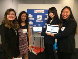 TechnoLIONS Hannah Cole, Maya Modi, Isabel Bulman, and Gretchen Zhang